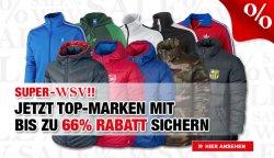 WSV im Bild-Shop, bis zu 66 % Rabatt, z.B. Puma Fleecjacke für 19,95 Euro (vorher 59,95 €)