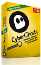 1 ganzes Jahr  CyberGhost Special Edition VPN mit unbegrenzten Traffic und voller Bankbreite für 4,99€ statt 39,04
