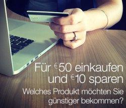 10 € Amazon-Gutschein mit 50 € MBW (für Facebook-Verknüpfer)