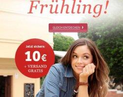 10 €uro geschenkt + GRATIS-Versand bei Sheego