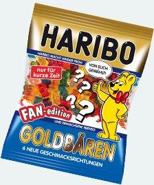 1000 Goldbären Vorserientests wochenweise verschiedene Geschmacksrichtungen kostenlos