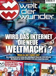 14 (!) Monate die Zeitschrift WELT DER WUNDER für effektiv nur 7,- €