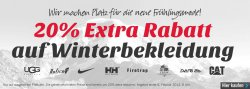 20% Extra Rabatt auf Winterbekleidung @ mandmdirect.de