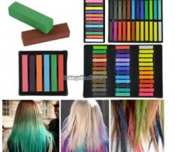 24 Farben Haarkreide mit Versand nur 7,34 @eBay.de