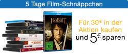 5-Tage-Filmschnäppchen | Für 30€ kaufen und 5€ sparen @Amazon