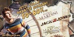 50% bis 80% Rabatt auf Jack & Jones, Patria Mardini und Patria Mardini Premium bei Hoodboyz