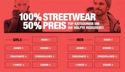 50% Rabatt auf Jacken, Hosen, Sweatshirts und noch viel mehr @Planet-sports