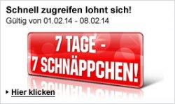 7 Tage – 7 Schnäppchen bei Weltbild + 10€ und 15€ Gutscheincode [MBW]@ Weltbild.de