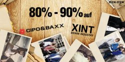 80%-90% Rabatt auf Cipo & Baxx und XINT Bekleidung bei Hoodboyz