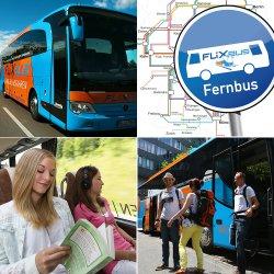 Alle Strecken – ein Preis! Mit FlixBus durch Deutschland für nur 14,90 € (z.B. Rostock – München ca. 800km) @eBay