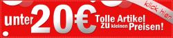 Alles unter 20€ bei Adultshop + 10€ Gutscheincode@