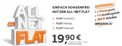 ALLNETFLAT |  Internet 500MB 19,90€ 6 Monate Gratis+ 100€ Amazongutschein @sim-aktion.de