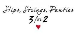 Amazon – Aktion: 3x Slip, Strings oder Panties von Esprit kaufen und zum Preis von 2 erhalten