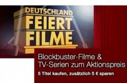 Amazon Aktion: Blockbuster-Filme und TV-Serien zum Aktionspreis – 5 Titel kaufen, zusätzlich 5 EUR sparen, z.B. der Film Capote für nur 5,97€, Wolverine 3D für nur 21,97€ [Idealo 24,99€]