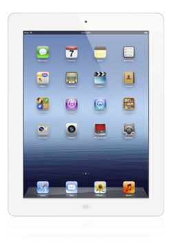Apple iPad 4 Wi-Fi weiss, 16GB, B-Ware für 244,94€ inkl. Versandkosten @modeo.de