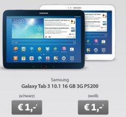 Bei Sparhandy im LiveDeal: o2 go 5GB Surf Flat L für 11,91€/Monat statt 24€ + Samsung Galaxy Tab 3 10.1 für 1€