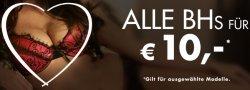 BH's für je 10 Euro bei Beate-Uhse.com