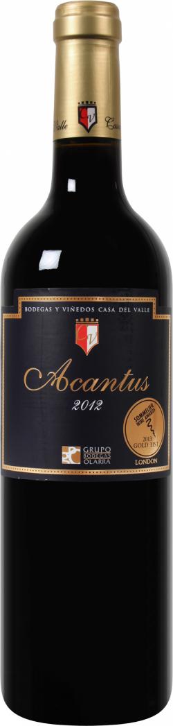 Billiger als ein  Aldi-Wein! Ein Goldprämierter Bodegas y Viñedos Casa del Valle – Acantus für 2,24€ statt 7,99€