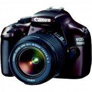 Canon EOS 1100D, 12MP SLR Digicam mit Objektiv EF-S 18-55 IS für 250€ zzgl. Versandkosten @berlet.de