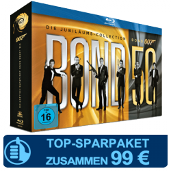 Cinema + James Bond [Blu-ray Collection] für 99€