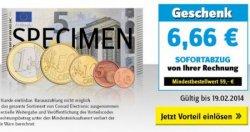 Conrad 6,66€ Gutscheincode MBW 59€ bis 19.02.2014 gültig