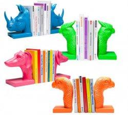 Coole Buchstützen als Dekotiere z.B. Vogel, Hund oder Papagei für 16,95€ inkl. Versand @eBay