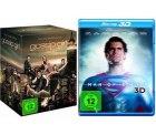 DVD- und Blu-ray Angebote der Woche bei Amazon, z.B. Man of Steel ab 8,97€, Gossip Girl (Komplette Serie) 59,97€