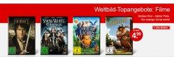 DVDs für maximal 4.99€ (300 Filme stehen zur Auswahl) @Weltbild