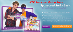 GRATIS 100MB Surfflat + 7 € Amazon Gutschein für 0,00 € @call-a-handy.com