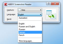 Gratis Abby Screenshot Reader für Windows oder Mac @sharewareonsale.com