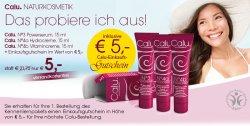 Gratis Calu Kennenlernpaket dank Gutscheincode [Warenwert 21,70€] kostenloser Versand @calu.de