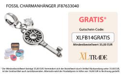 Gratis Fossil Charmanhänger JF87633040 ab 35€ Bestellwert @xltrade.de