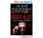 Heute Gratis – Böses Blut – Vampirthriller von J.R. Rain, Scott Nicholson und H.T. Night, übersetzt von Anja Rücknagel @Amazon