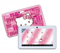 INGO Hello Kitty Premium 9 Zoll Kinder Tablet PC mit Android 4.1 für 60,77 € (89,00 € Idealo) @Pixmania