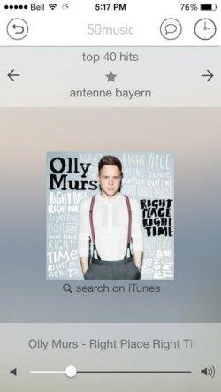 Lieblingsmusik GRATIS auf iPhone und iPad hören mit 50music jetzt kostenlos statt 3,59 € @iTunes