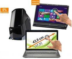 Medion Akoya 17.3″ Touch Notebook für 499,95€ (Idealo 549€) und weitere Deal bei der MEDION Olympiade – bis zu 35% Rabatt auf PCs, Tablets und Handys
