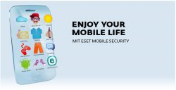 Mobile Security Premium für Android 1 Jahr gratis @eset.com
