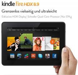 Nur für kurze Zeit: -20% auf alle Kindle Fire HDX-Tablets @Amazon