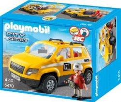 Playmobil 5470 – Bauleiterfahrzeug  für 9,11€ zzgl. Versandkosten [idealo 18,94€]@ amazon
