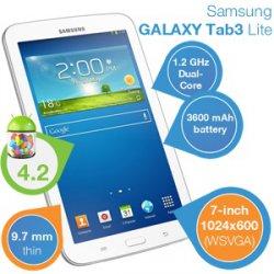 Samsung Galaxy Lite Tab3 – 7- Zoll Android 4.2 Tablet für 125,90€ inkl. Versandkosten [idealo 150,96€] @iBOOD