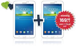 Samsung Galaxy Tab 3 (7.0) 8GB Wifi für 99,99€ (satt 127€ bei Idealo) oder 2 Stück für 169,99€ (statt 254€ Idealo) bei mobilcom-debitel