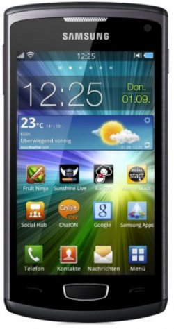 Samsung Wave 3 S8600 Smartphone für nur 150,00 Euro + Versand (statt  237,92 Euro bei Idealo) bei carbonphone.de