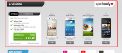 Sparhandy LIVE DEAL: Otelo Allnet Flat M in alle Netze zb. mit HTC One mini ab 22,49€ mtl.
