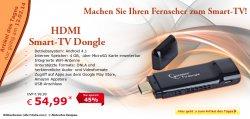 Tagesangebot, HDMI, Smart TV Dongle nur 54,99 €uro @ Netto Onlineshop