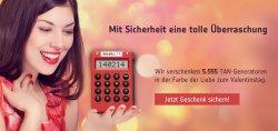 TAN-Generatoren zum Valentinstag geschenkt  @Reiner SCT/facebook