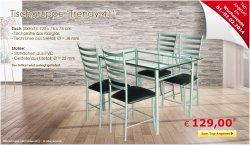 Tolle Tischgruppe für 129,00 €uro @ Netto Onlineshop, nur noch heute