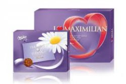 Valentinstag ist bald.-  I Love Milka oder Milka Thanks Box für 9,95 Euro – Mit individueller Gestaltung @Groupon