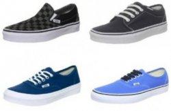 Vans Sale bei Javari (bis zu 50% Rabatt!), z.B. Vans Authentic french blue/true für nur 28,80€ (kostenloser Versand)