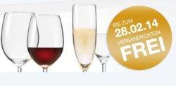 Verschiedene Gläser und mehr ab 1€ bis 28.02 Versand kostenlos ohne MBW @leonardo.de