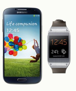 Vodafone Red XS + Galaxy S4 + Galaxy Gear für 1€ | 29,99€ Mtl.@ handyflash.de